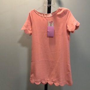 Dresses & Skirts - pink shirt sleeve dress